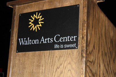 Walton Arts Center Sign