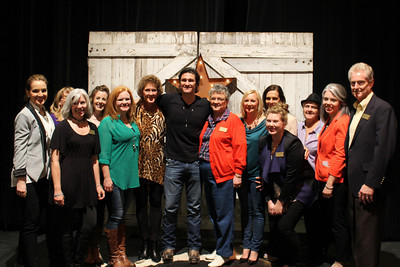 Joe Nichols and Washington Regional Foundation Staff
