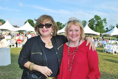 Cathy Roe and Kama Marsh