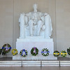 Lincoln Memorial, the day after President's Day 2014