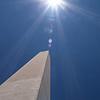 Washington Monument, Washington, DC, July 2, 2007. Lincoln Memorial