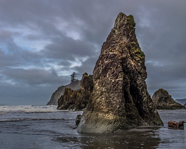 Sea stacks at Ruby Beach, Olympic National Park