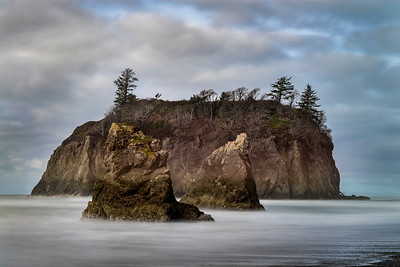 Looking north from Ruby Beach, Olympic National Park
