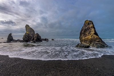 Sea stacks, Ruby Beach, Olympic National Park, Washington