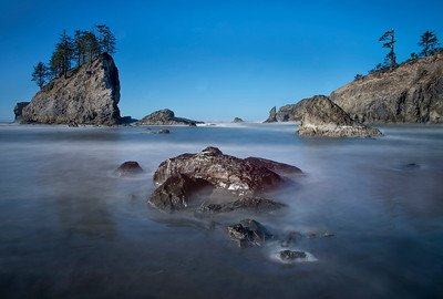 Second Beach near LaPush, WA, Olympic National Park
