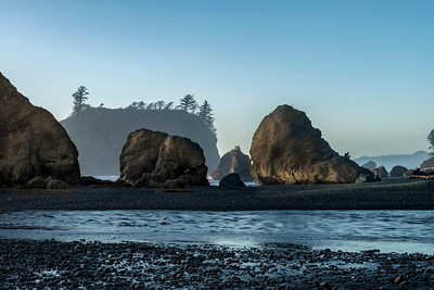 Mouth of Cedar Creek at Ruby Beach, Olympic National Park