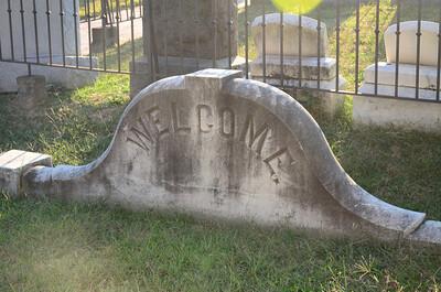 Hall family plot at Congressional Cemetery, Washington DC
