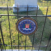 Gravesite of FBI Director J. Edgar Hoover at Congressional Cemetery, Washington DC