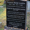 Grave of Thomas Lantos at Congressional Cemetery, Washington DC