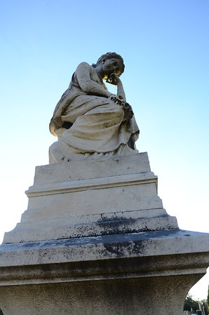 Monument for DC madam Mary Hall, at Congressional Cemetery, Washington DC