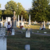 At Congressional Cemetery, Washington DC