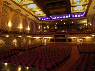 View from the stage of the Lincoln Theater, Washington, DC, July 11, 2008.