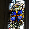 Stained glass window commemorates the Earl of Southampton at the Folger Shakespeare Library, Washington DC.