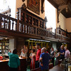 Reading room tour, Folger Shakespeare Library, Washington DC.