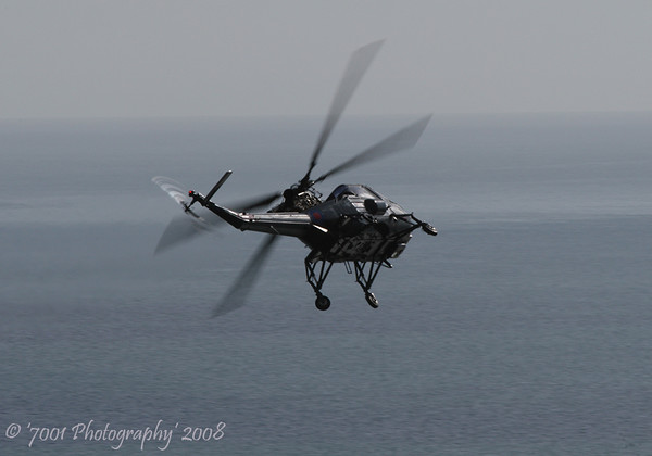 XT793/'456' (G-BZPP) Wasp HAS.1 - 14th August 2008.