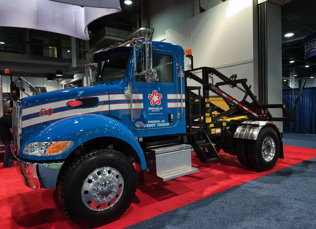 Peterbilt G&H Container Delivery Truck