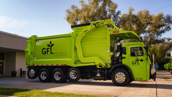GFL 2018 Mack LR  Heil Odyssey Curotto Can Front Loader
