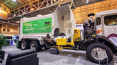 Greenwaste Peterbilt 320 New Way RotoPac Automated Side Loader