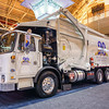 Waste Connections Autocar ACX Bridgeport Frontier Lightweight Front Loader