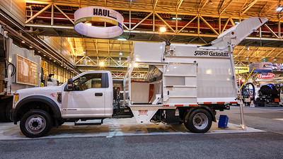 Ford F550 Haul-All Super Curbster