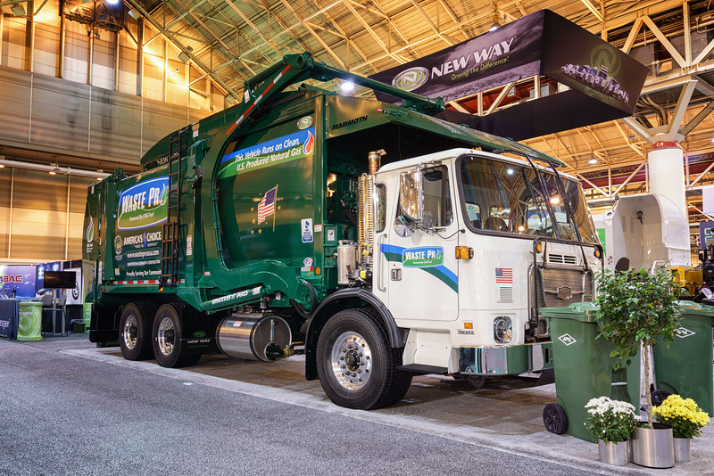 Waste Pro Autocar ACX New Way Mammoth Front Loader