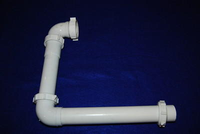 This shows the shower pipe in detail