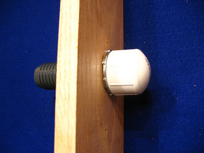 Cover the drain with a 1 1/4 inch thread cap when the drain is not in use.