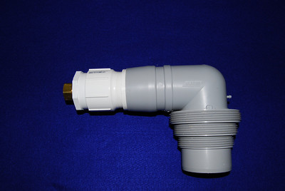 The modified sewer connector for garden hoses
