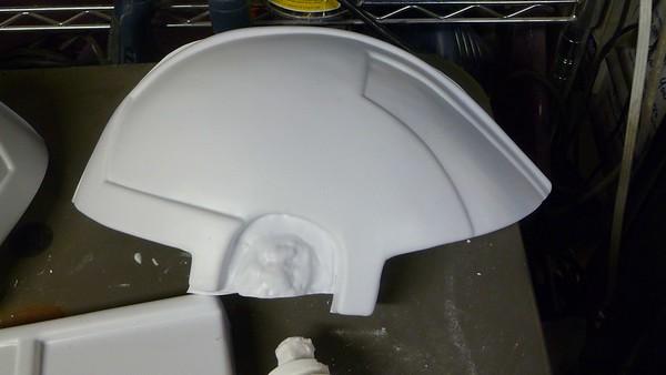 Helmet half