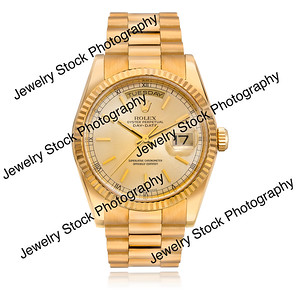 Oyster Pepetual DateJust Mens Rolex Yellow Gold