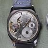 Tiane black dial movement