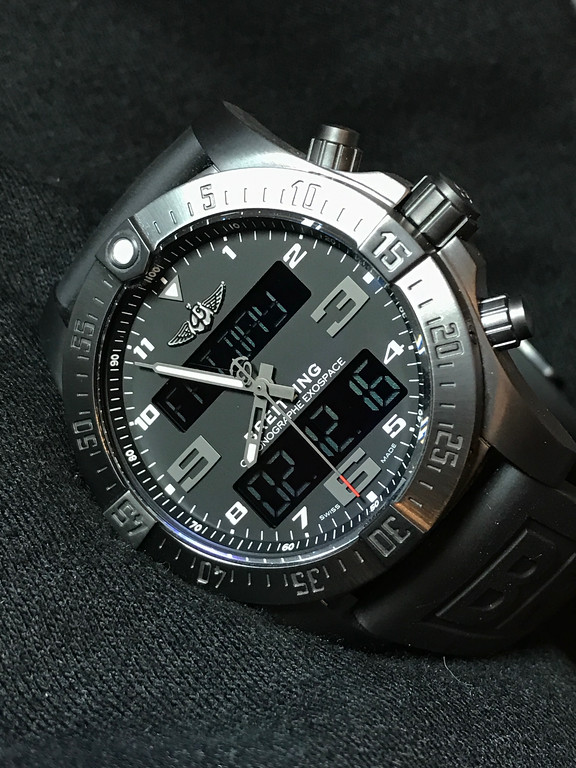 Breitling Exospace B55 Night Mission, review Breitling Exospace B55 Night Mission