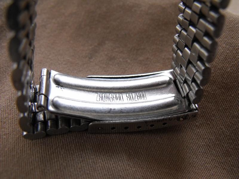 Suzhou green dial bracelet inside