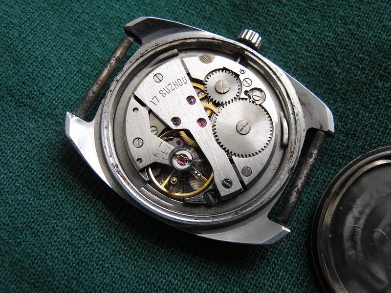 Suzhou white dial movement