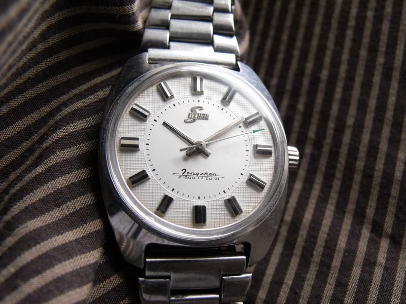 Suzhou white textured dial 1