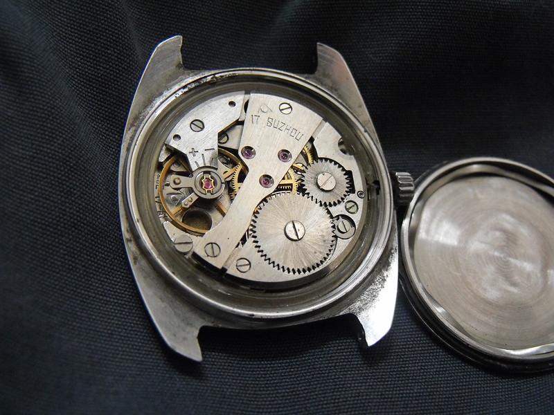 Suzhou zhiqing white dial movement