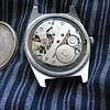 Hongqi silver/blue dial movement