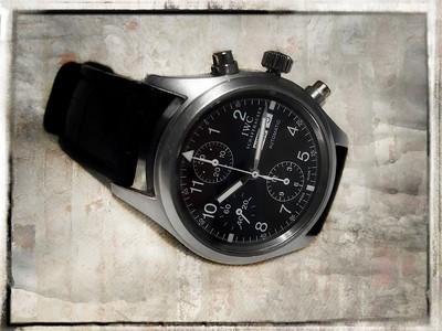 IWC Pilots Chronograph 3706