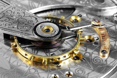 Antique pocketwatch movement
