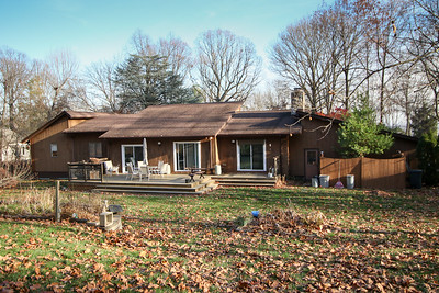 Back yard - our house 505 Johnston Drive Watrchung NJ
