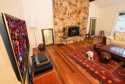 Family room - our house 505 Johnston Drive Watrchung NJ