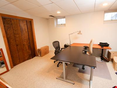 Basement office - Our house 505 Johnston Drive Watrchung NJ