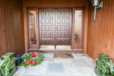 Entryway - our house 505 Johnston Drive Watrchung NJ