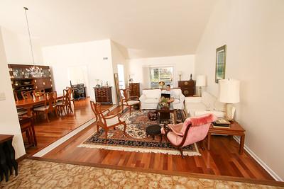 Living room - our house 505 Johnston Drive Watrchung NJ