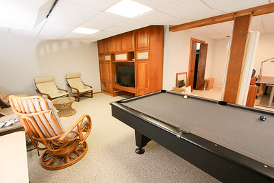 Rec room and basement - Our house 505 Johnston Drive Watrchung NJ