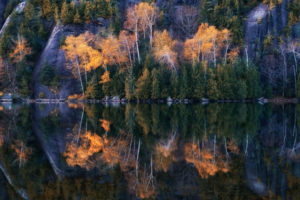 Chapel Pond Reflection