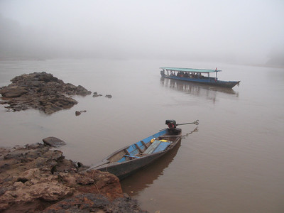 """""""Amazon River, 6:00 AM"""" (photography) by Shana Bowes"""