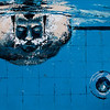 """Swimming pool"" (acrylic on canvas) by Olga Krokhicheva"