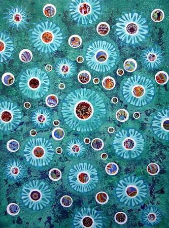 """""""The Deep"""" (mixed media) by Bob Craig"""