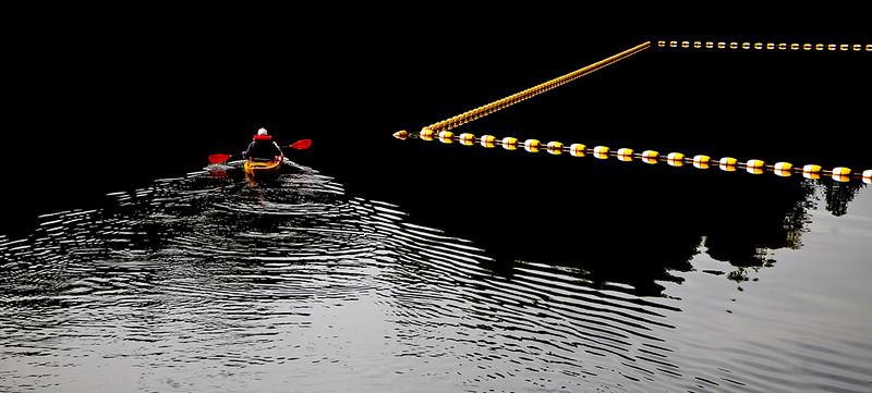 """Lake Sylvia, WA"" (photography) by David Colón"
